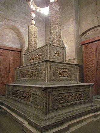 Hussein Kamel of Egypt - Tomb of Sultan Hussien Kamel in Refaii mosque - Cairo - Egypt