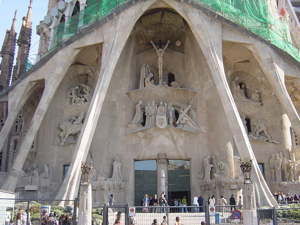 ファイル サグラダ ファミリア教会 受難のファザード Jpg Wikipedia