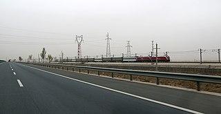 Lanzhou–Xinjiang high-speed railway railway line