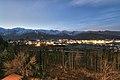 長野県神城断層地震当日の白馬・白馬ハイランドホテルからの景色 01.jpg