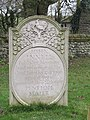 -2020-01-05 Headstone of John Innell & Penelope Slater, Saint Mary, Northrepps.JPG