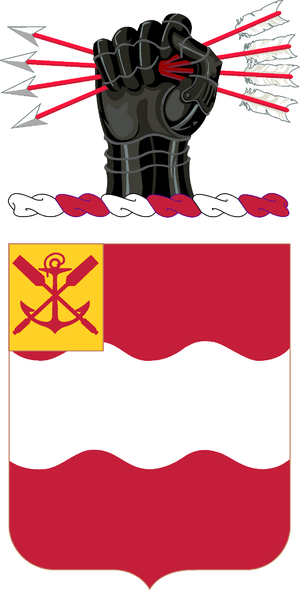 4th Engineer Battalion (United States) - Coat Of Arms
