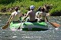 02018 0275 Schlauchboottour auf dem Sanfluss durch die Ost-Beskiden, Oberes Santal in Trepcza (Miedzybrodzie).jpg