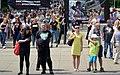 02018 0436-001 Rechtsradikaler Gegendemonstranten bei der CzestochowaPride-Parade, ONR, Jasna Góra.jpg
