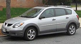 Pontiac Vibe Wikipedia