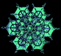 05 snowflake colorized early experimental digital photography by Rick Doble.png