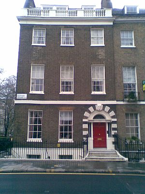 Charles Gilpin (politician) - Charles Gilpin's home at 10, Bedford Square, London