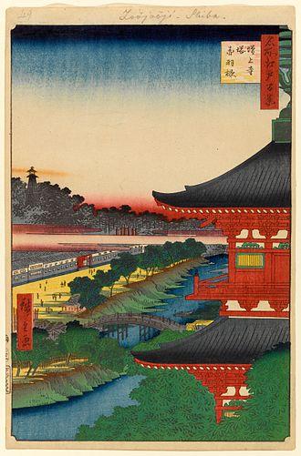 Zōjō-ji - Image: 100 views edo 049