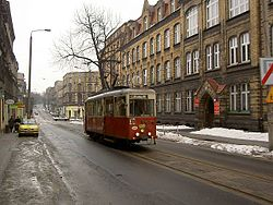 101 Silesian Interurbans, N type car, Bytom.jpg
