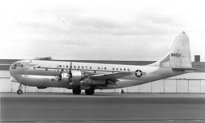 109th Air Transport Squadron Boeing C-97A Stratofreighter 49-2607