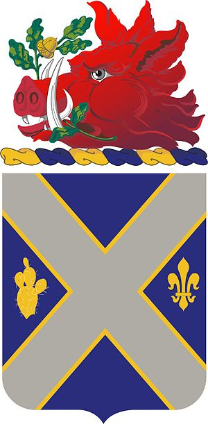 121st Infantry Regiment (United States) - Coat of arms