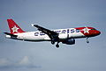129be - Edelweiss Air Airbus A320-214; HB-IHY@ZRH;28.04.2001 (6350995334).jpg