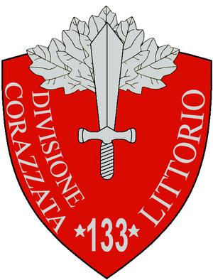 133rd Armoured Division Littorio - 133a Armoured Division Littorio Insignia