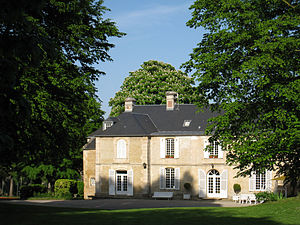 Chateau de Guernon-Ranville - Partial view of the château