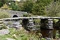 13th century clapper bridge on Dartmoor (37435255935).jpg