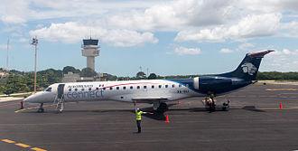 Aeroméxico Connect - Embraer ERJ-145LU in Campeche, Mexico