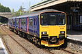 150129 Class 150 Sprinter, Par Station Cornwall - UK April 29 2014. (14072966731).jpg
