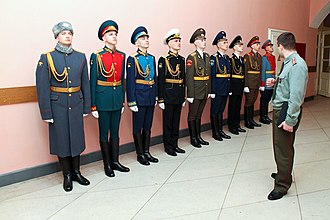 Uniforms of the Russian Armed Forces - Different types of Russian uniforms.