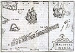 1598 Middleburg Bertius Maldives map