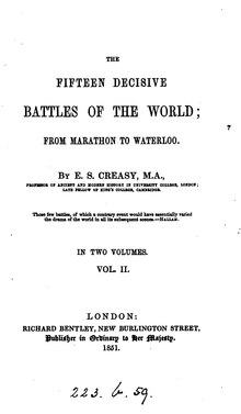 15 decisive battles of the world Vol 2 (London).djvu