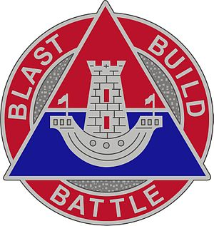 16th Engineer Brigade (United States) - Image: 16 Eng Bde DUI