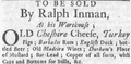 1764 Ralph Inman BostonNewsLetter April19.png