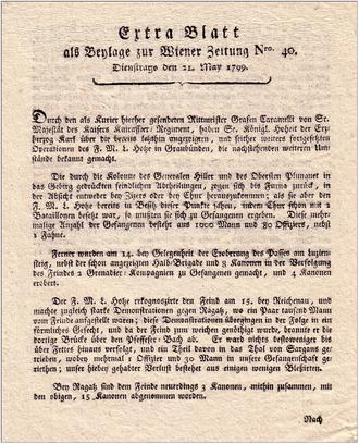 Wiener Zeitung - Image: 1799 Wiener Zeitung
