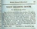 1831 WestReadingRoom BostonDirectory BostonPublicLibrary.jpg