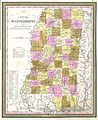 1849 Cowperthwait - Mitchell Map of Mississippi - Geographicus - MS-m-49.jpg