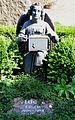 1854 von Fritz Hurtzig geschaffener, verschollen geglaubter BÖDEKER-ENGEL, Grabstelle Erich Flügel (1906-1984), Kirchröder Friedhof, Kleiner Hillen 5, ev.-luth. Jakobikirchengemeinde in Hannover-Kirchrode.jpg