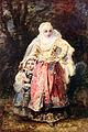 1865 de la Peña Orientalin mit ihrer Tochter anagoria.JPG