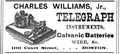 1877 Williams telegraph CourtSt Boston SomervilleDirectory.png