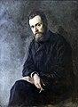 1884 Yaroshenko Portrait Schriftsteller G.I. Uspenskoje anagoria.JPG