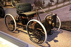 1896 Ford Quadricycle Runabout (14454150721).jpg