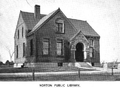 1899 Norton public library Massachusetts.png