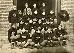 1901 VMI Keydets football team.jpg