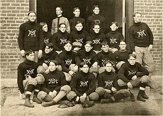 1901 VMI Keydets football team - Image: 1901 VMI Keydets football team
