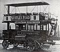 1902 Thornycroft steam bus used for some weeks from 17 March by London Road-Car Co Ltd.jpg