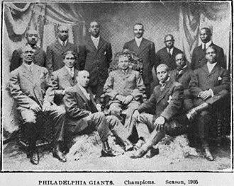 Philadelphia Giants - The 1905 Philadelphia Giants