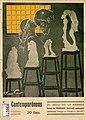 1911-06-16, Los Contemporáneos, El beso de la hebrea, novela de Prudencio Iglesias, dibujos de Romero Calvet.jpg