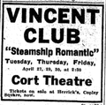 1915 CortTheatre BostonGlobe 26April.png