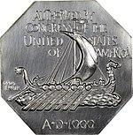1925 Medal Norse Silver commemorative (reverse).jpg