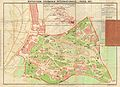 1931 Leconte Map of Paris w-Monuments and Map of the Exposition Coloniale - Geographicus - Paris-leconte-1931 - 2.jpg