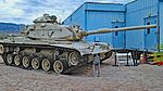 1963 M60a3 General Patton Museum, Chiriaco Summit, CA. (22354047571).jpg