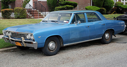 Chevrolet Chevelle - Wikiwand