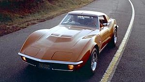 Chevrolet Corvette (C3) - 1971 Corvette Stingray Coupe