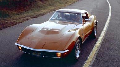 1971 Corvette coupe