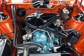 1977 AMC Gremlin X engine - Hershey 2019.jpg