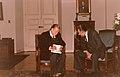 1990. Septiembre, 4. El senador vitalicio venezolano Rafael Caldera y el presidente chileno Patricio Aylwin.jpg