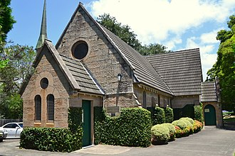 Artarmon, New South Wales - Image: 1 South Chatswood Church 101